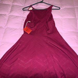 Dresses & Skirts - pink flowy dress